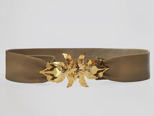 Sadaf Palma Belt Gold
