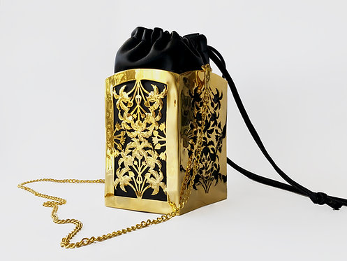 PentaPalm Bucket Bag Gold