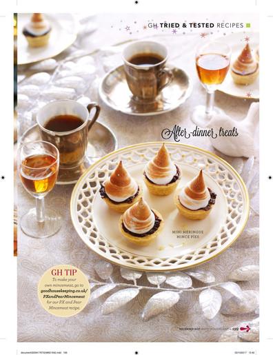 Mini meringue mince pies