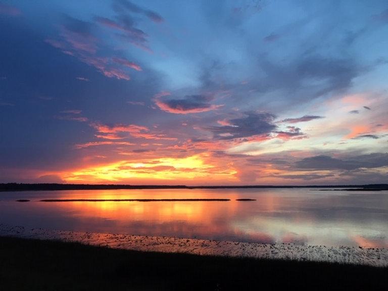 Watermans Bluff Beautiful sunset.JPG