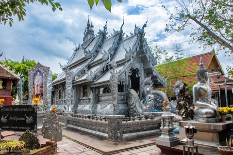 Kim Wealleans - 01-Wat Sri Supan-The Silver Temple.