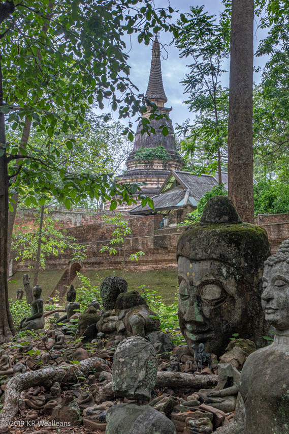 Kim Wealleans - 08-Around some older Sepas and Buddah heads
