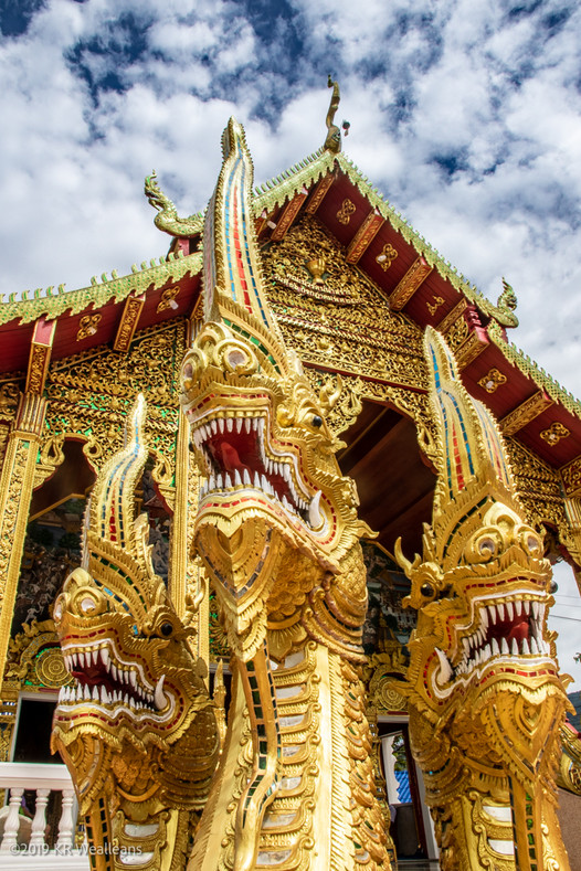 Kim Wealleans - 09-Golden Ornamentation at Wat Phra That Doi Khan
