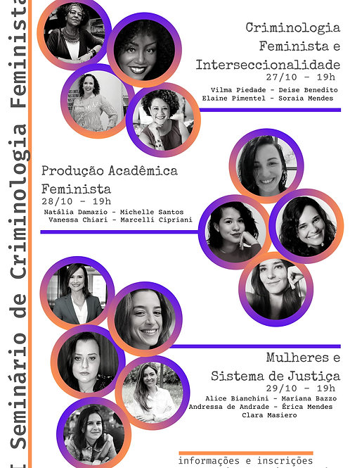 I Seminário de Criminologia Feminista