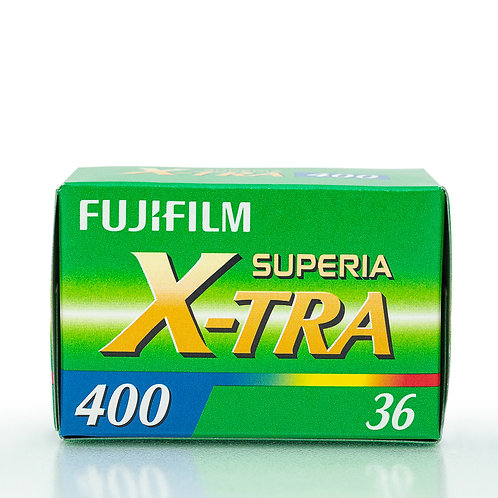 Fuji X-Tra superia 400 36 exp