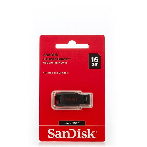 SanDisk Cruzer Blade Black 16GB