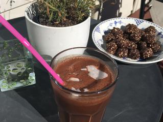 Kaffeshake med sjokoladesmak