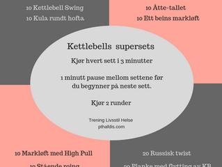 Superøkt med Kettlebells