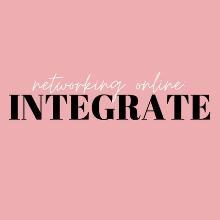 INTEGRATE | Networking Online (Part 4)