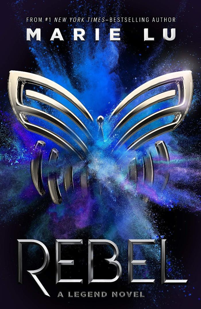 Book Cover of Marie Lu's Rebel