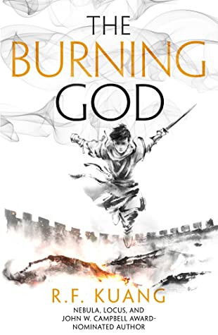 book cover of R. F. Kuang's The Burning God