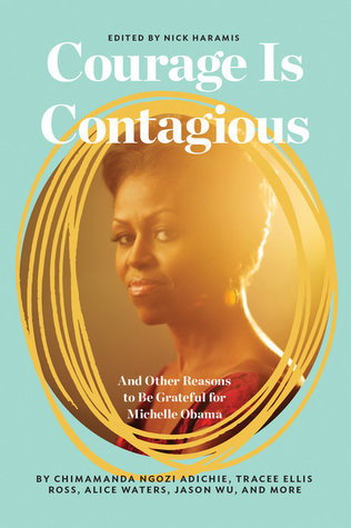 Book cover of editor Nick Haramis's Courage Is Contagious