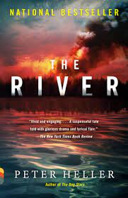 Book Cover of The River by Peter Heller