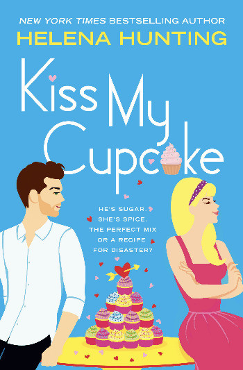 Book cover of Helena Hunting's Kiss My Cupcake