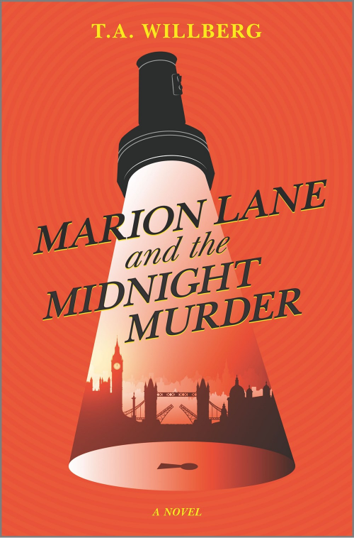 book cover of T. A. Willberg's Marion Lane and the Midnight Murder