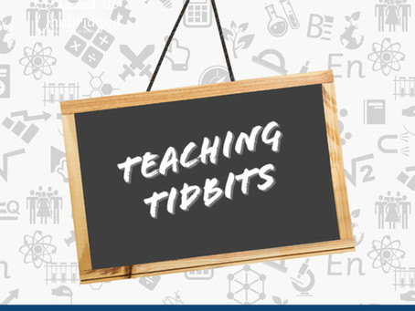 Teaching Tidbit #7 - Hands-On Activity Book Recommendations