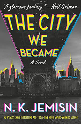 book cover of N. K. Jemisin's The City We Became