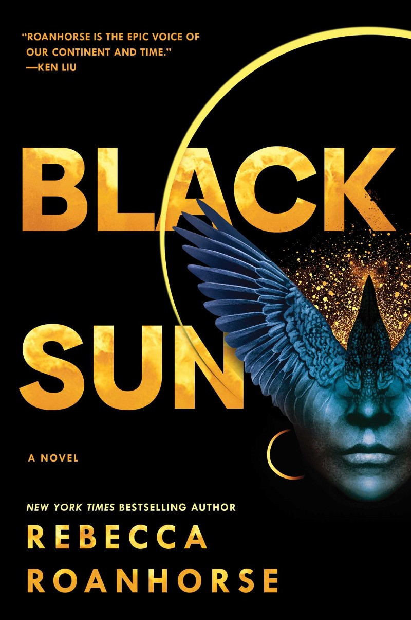 Book cover - Rebecca Roanhorse's Black Sun