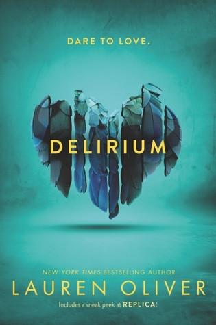 book cover of Lauren Oliver's Delirium