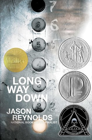 book cover of Jason Reynolds's Long Way Down