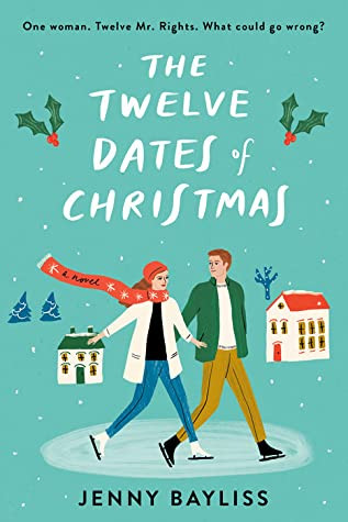 book cover of Jenny Bayliss's The Twelve Dates of Christmas