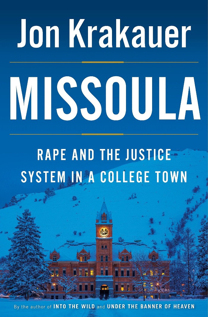 Book cover for Jon Krakauer's Missoula: Rape and the Justice System in a College Town