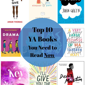Top 10 YA Books You Need to Read Now