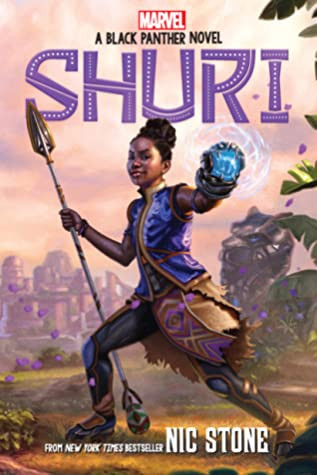 book cover of Nic Stone's Shuri