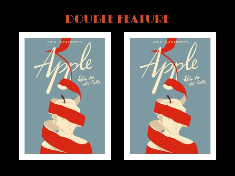 Book cover of Eric Gansworth's Apple: Skin to the Core and Text: Double Feature