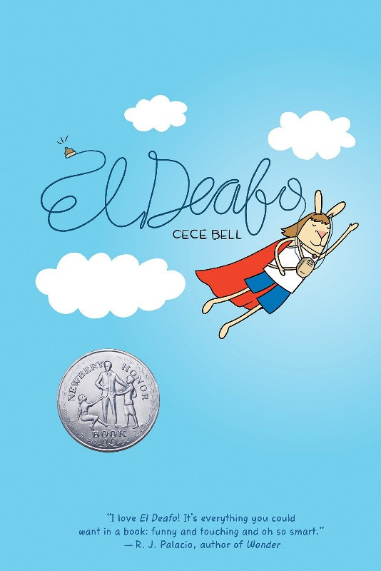 Book Cover of El Deafo by Cece Bell