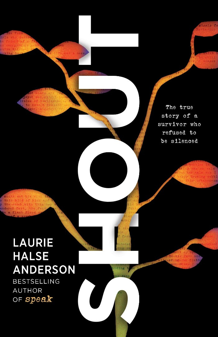 Book cover of Laurie Halse Anderson's SHOUT