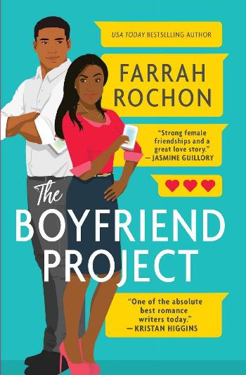 Book cover of Farrah Rochon's The Boyfriend Project