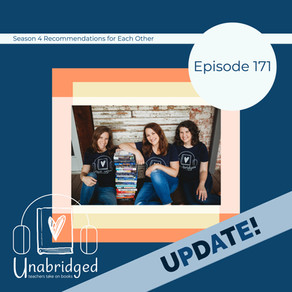 171: Update on Our Season 4 Book Recs to Each Other