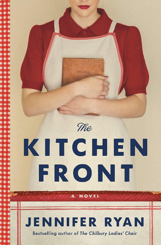 Book Cover of The Kitchen Front by Jennifer Ryan