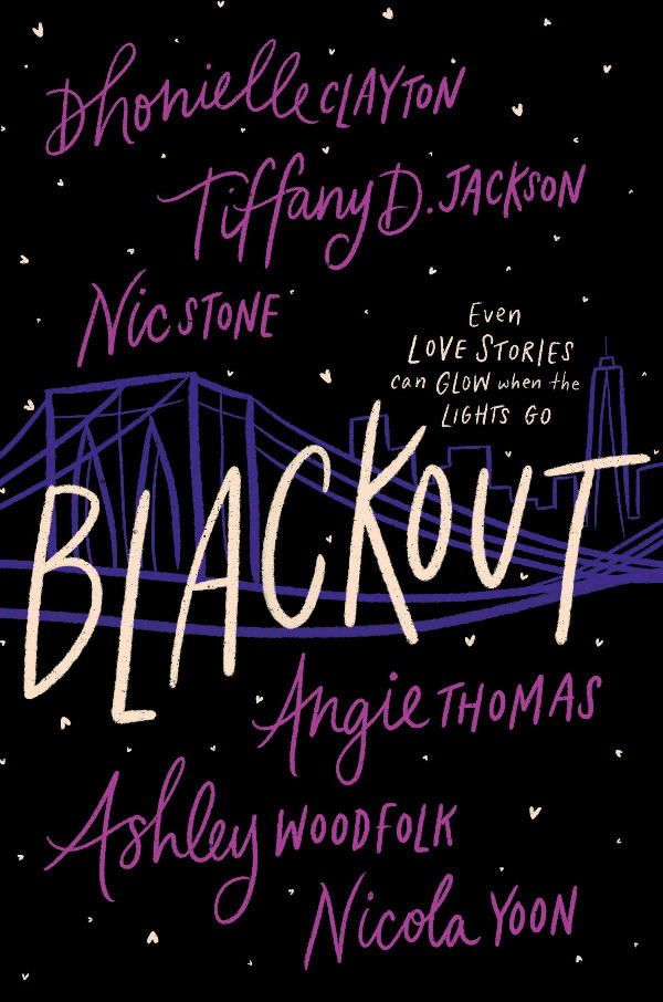 Book Cover of Blackout by Stone, Jackson, Clayton, Thomas, Woodfolk, and Yoon