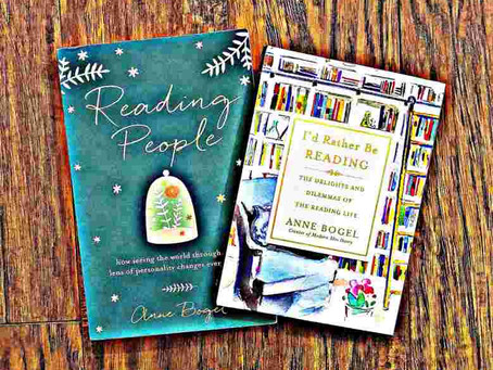 43: Anne Bogel's READING PEOPLE and I'D RATHER BE READING: Part of My Personality