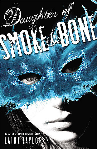 book cover of Laini Taylor's Daughter of Smoke and Bone