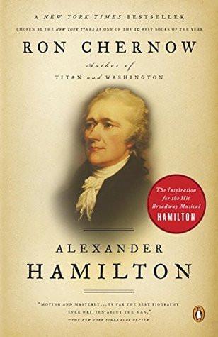 book cover of Ron Chernow's Hamilton