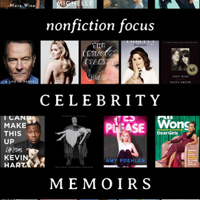 Nonfiction Focus: Celebrity Memoirs