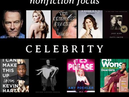 Nonfiction Focus: Celebrity Memoirs