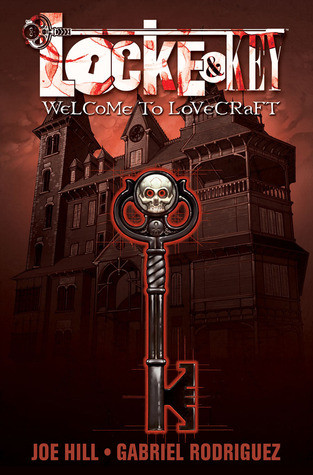 book cover of Locke and Key, volume 1, Welcome to Lovecraft
