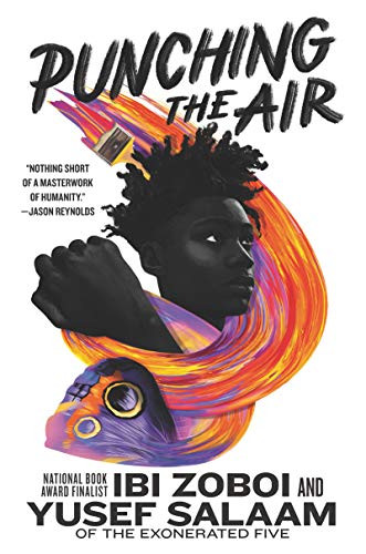 Book cover for Ibi Zoboi and Yusef Salaam's Punching the Air