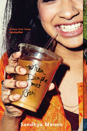 Book Cover of When Dimple Met Rishi by Sandhya Menon