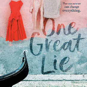 Book Review of Deb Caletti's ONE GREAT LIE - A Stunning Book about Gender and Power