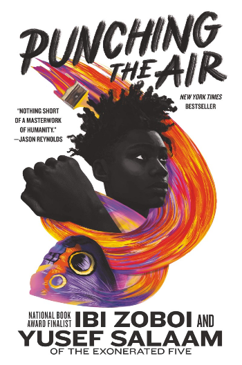 Book Cover of Punching the Air by Ibi Zoboi and Yusef Salaam