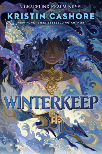 book cover of Kristin Cashore's Winterkeep