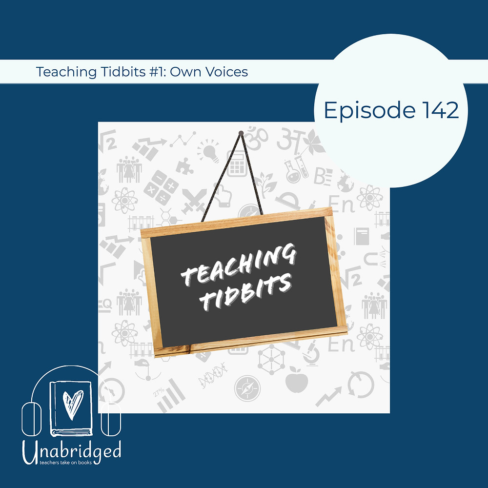 """Episode 142 graphic featuring a chalkboard that says """"Teaching Tidbits"""""""