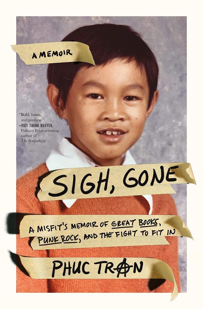 Book cover of Phuc Tran's Sigh, Gone