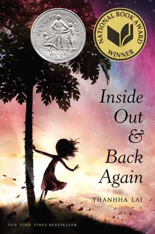 book cover of Thanhha Lai's Inside Out and Back Again