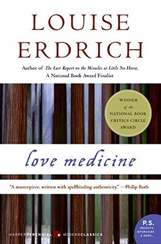 book cover of Louise Erdrich's Love Medicine